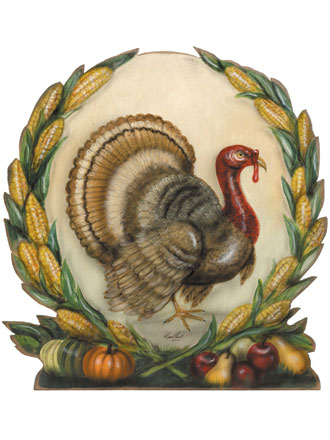 Harvest Turkey - Boardwalk Originals Thanksgiving Decoration & Display